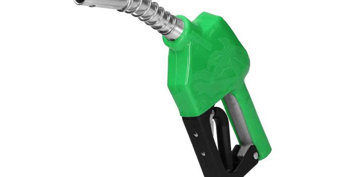 pistola benzina verde