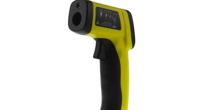pistola termometro