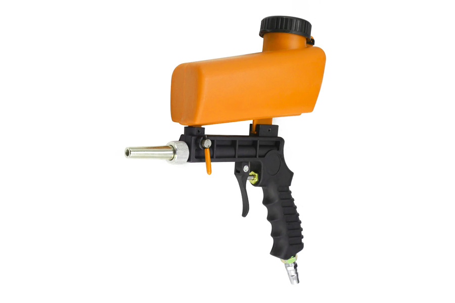 pistola sabbiatrice